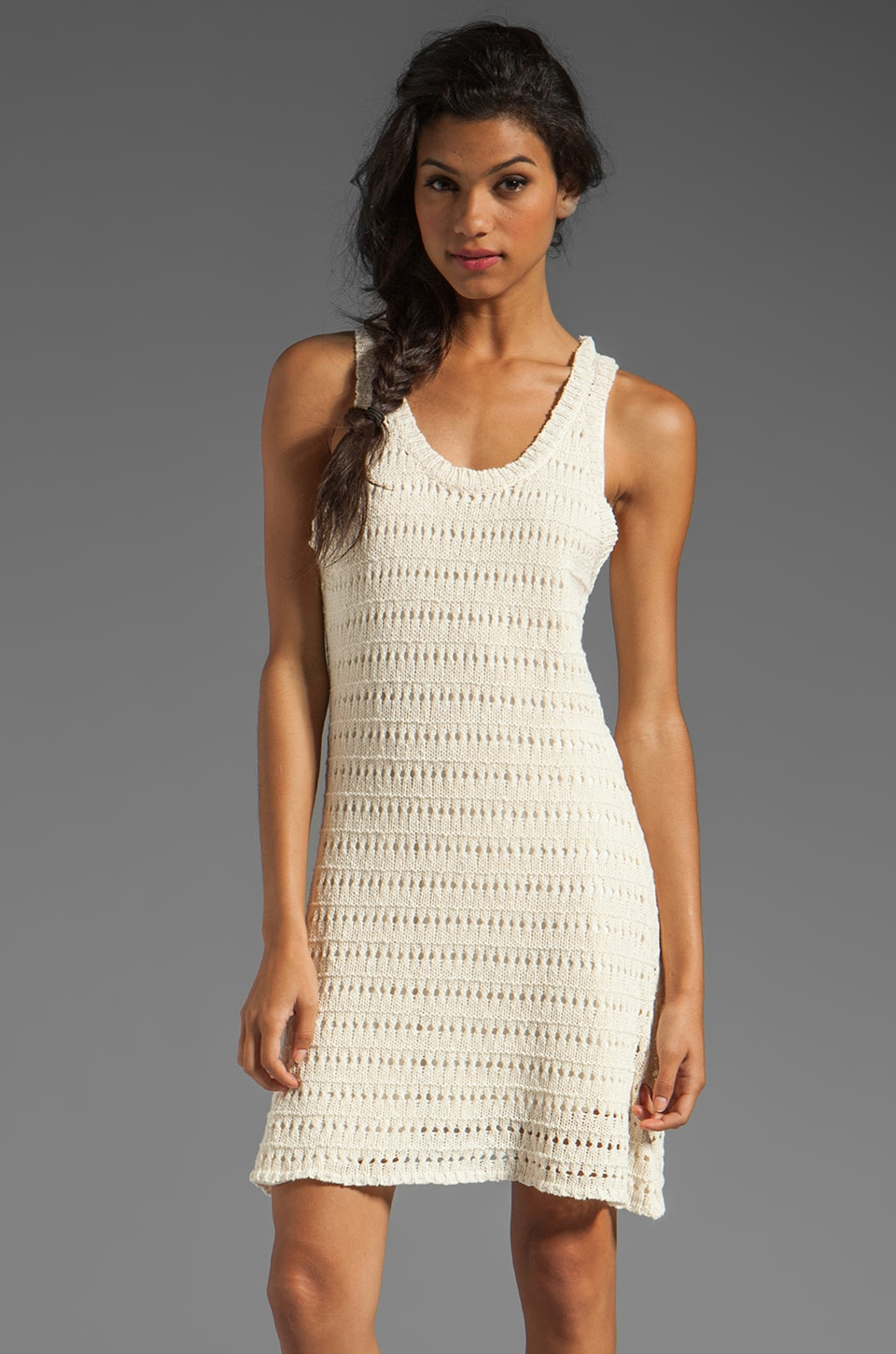Central Park West Amelia Island Tank Dress in Ivory