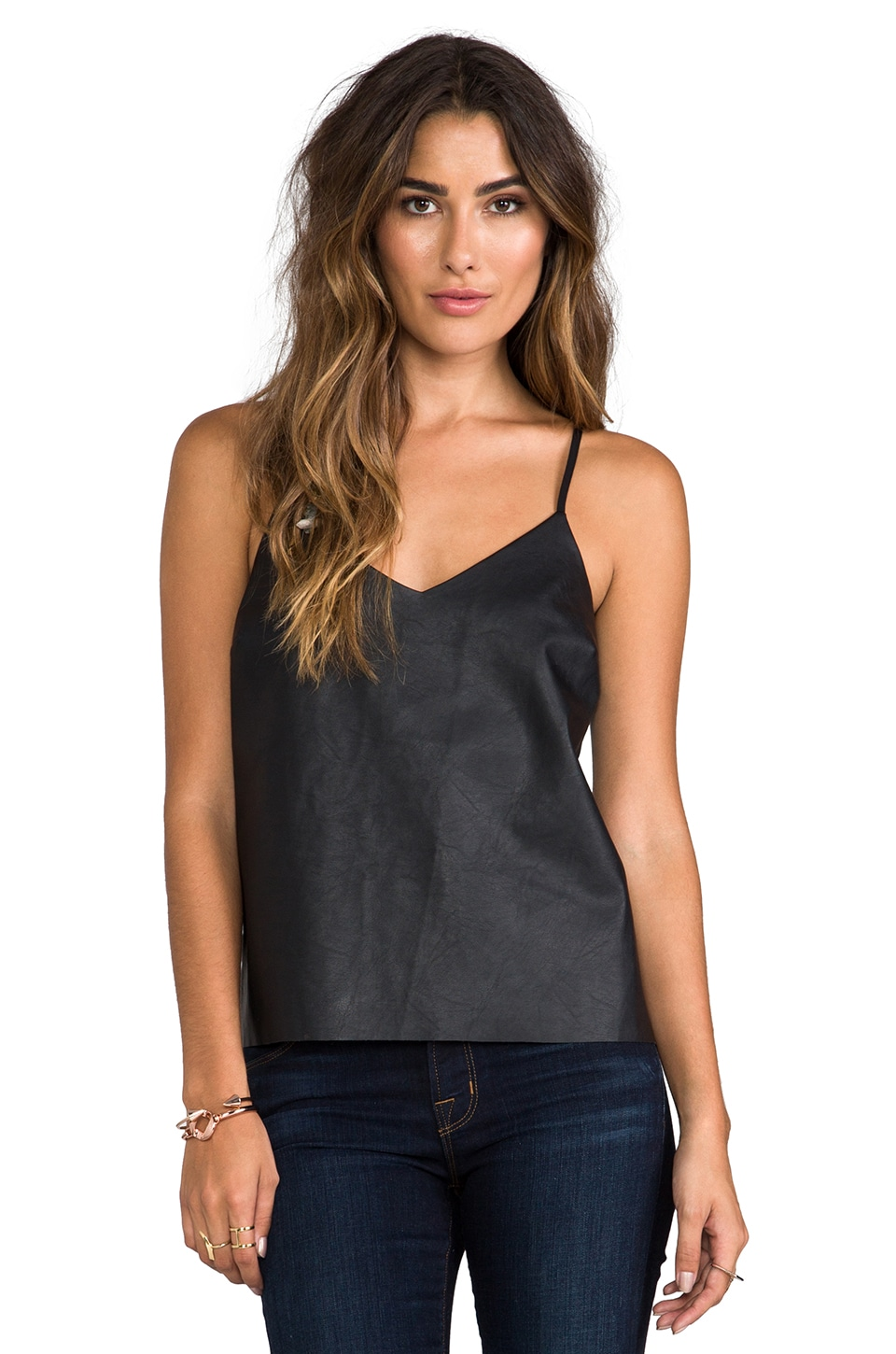 Central Park West Knickerbocker Place Tank in Black