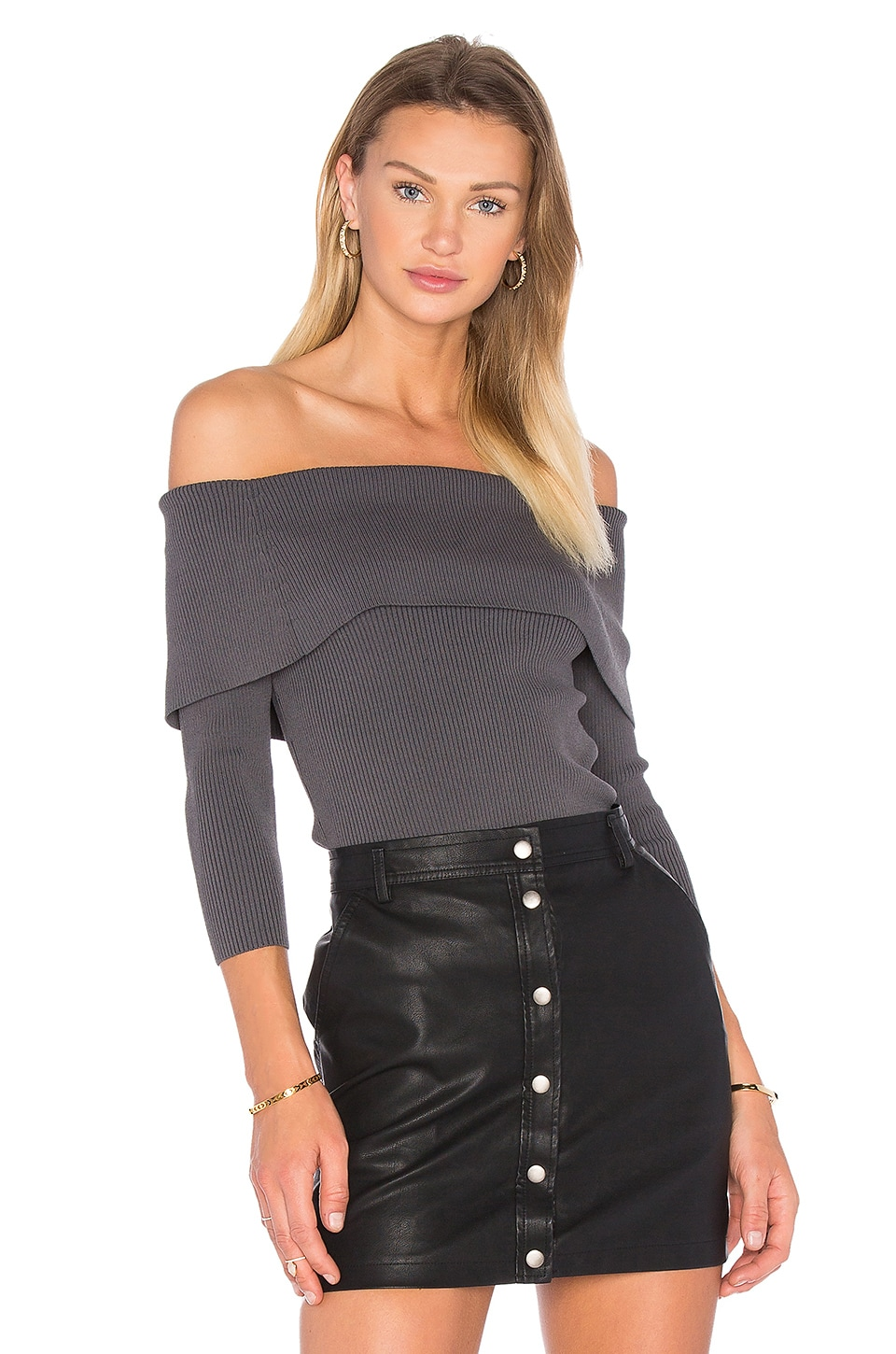 Irving Place Off Shoulder Sweater by Central Park West
