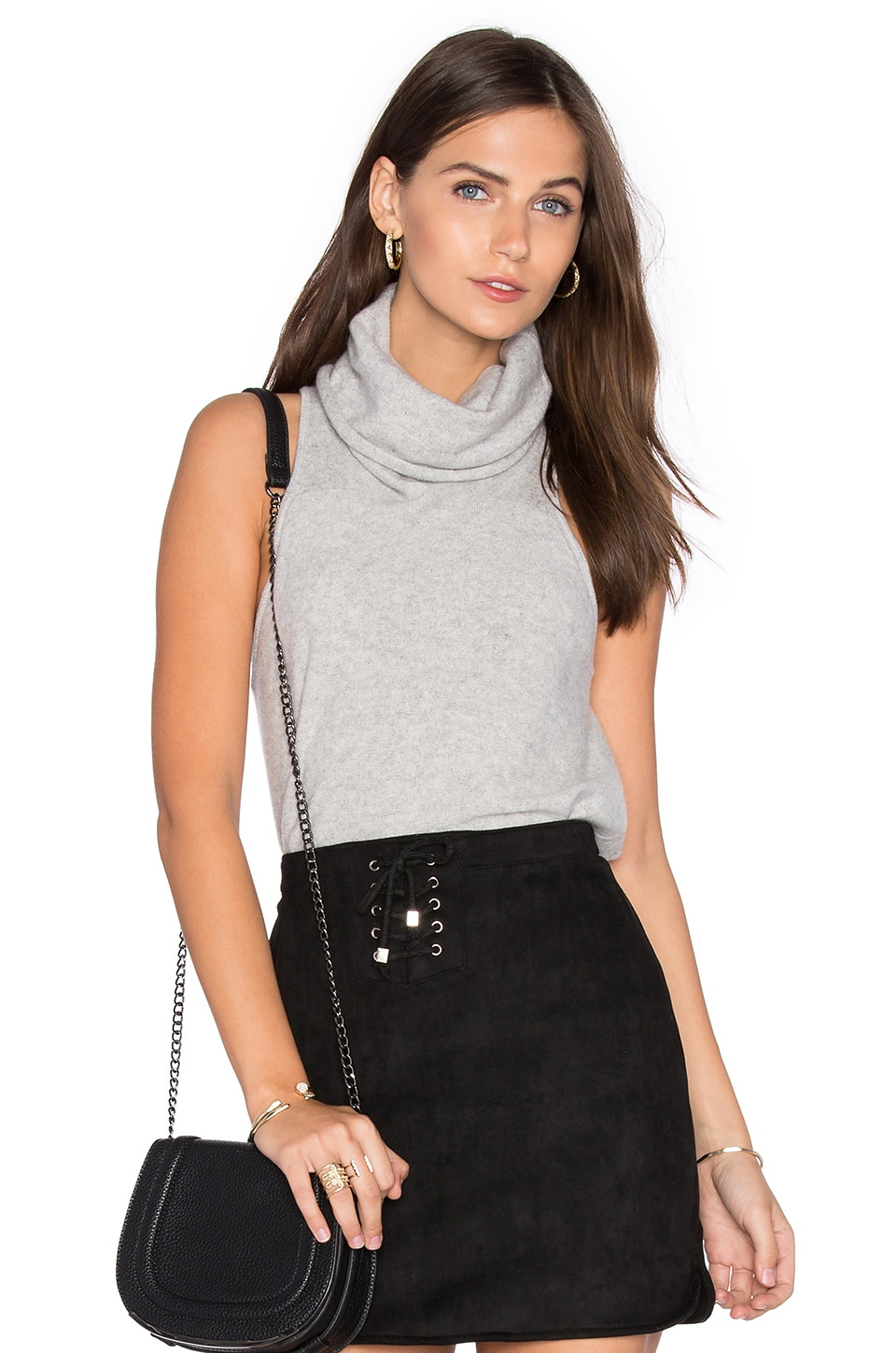Vienna Cashmere Sleeveless Sweater by Central Park West
