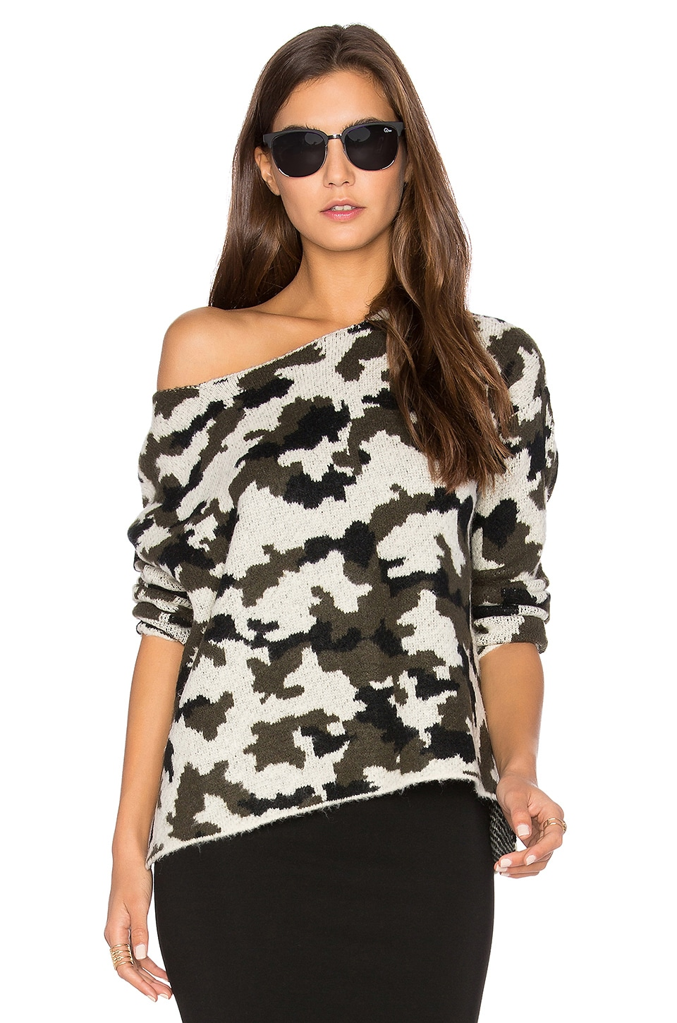 Camo Sweater by Central Park West