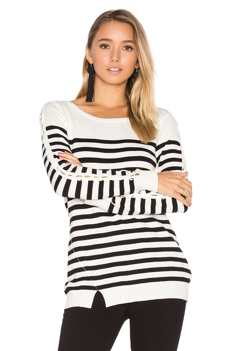 Baton Rouge Stripe Sweater by Central Park West