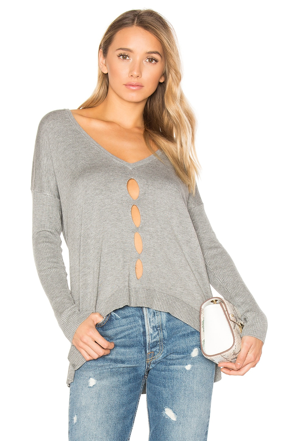 Palm Springs V Neck Sweater by Central Park West