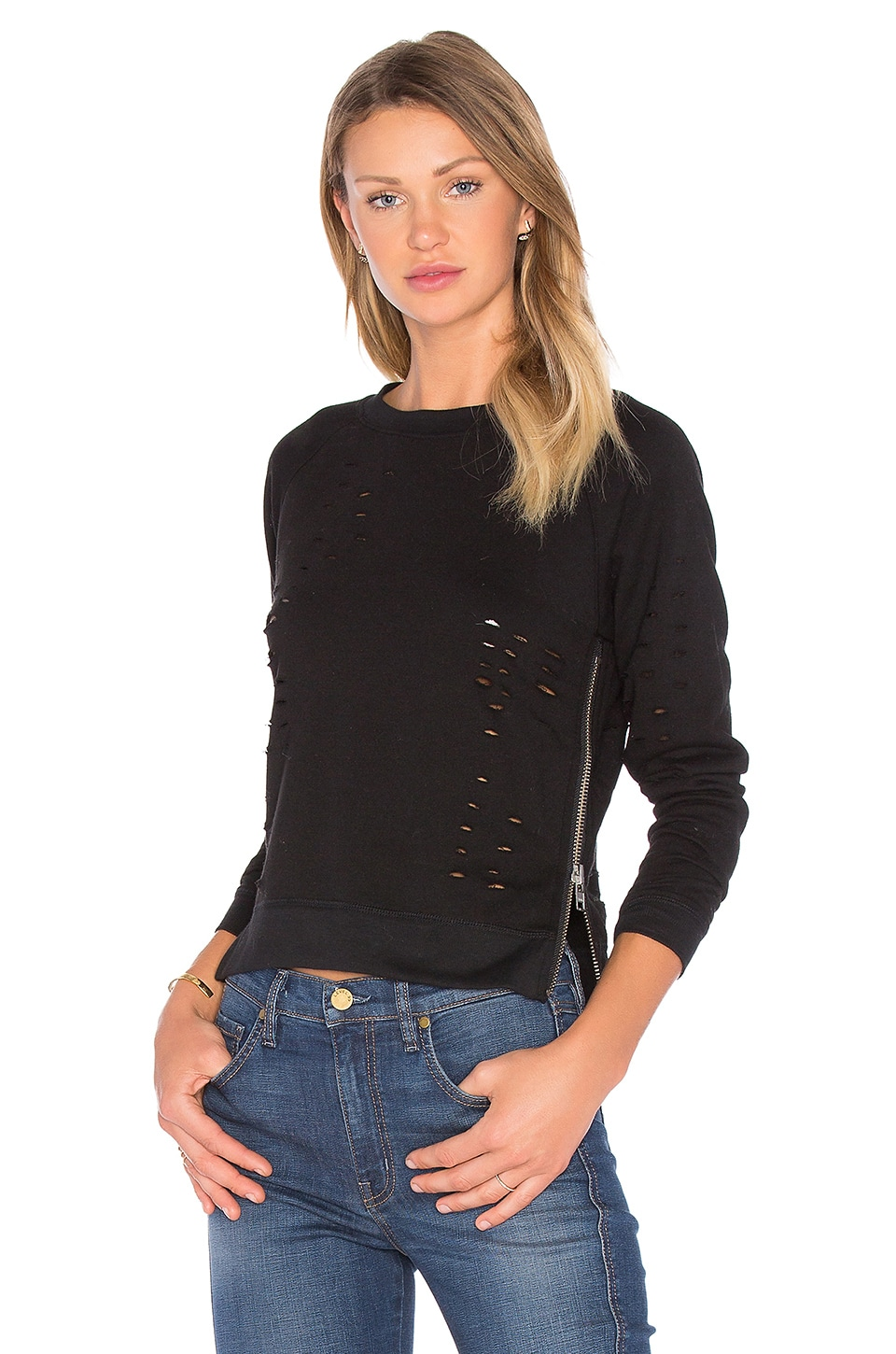 Great Jones Distressed Sweater by Central Park West