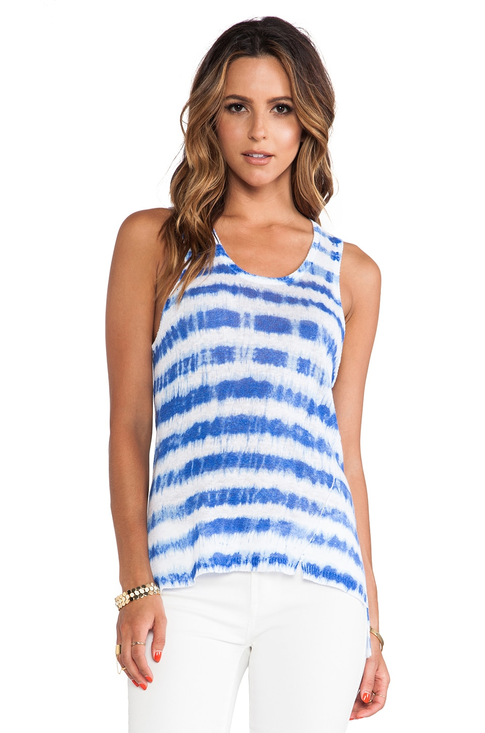 Central Park West Provence Tank in Blueberry