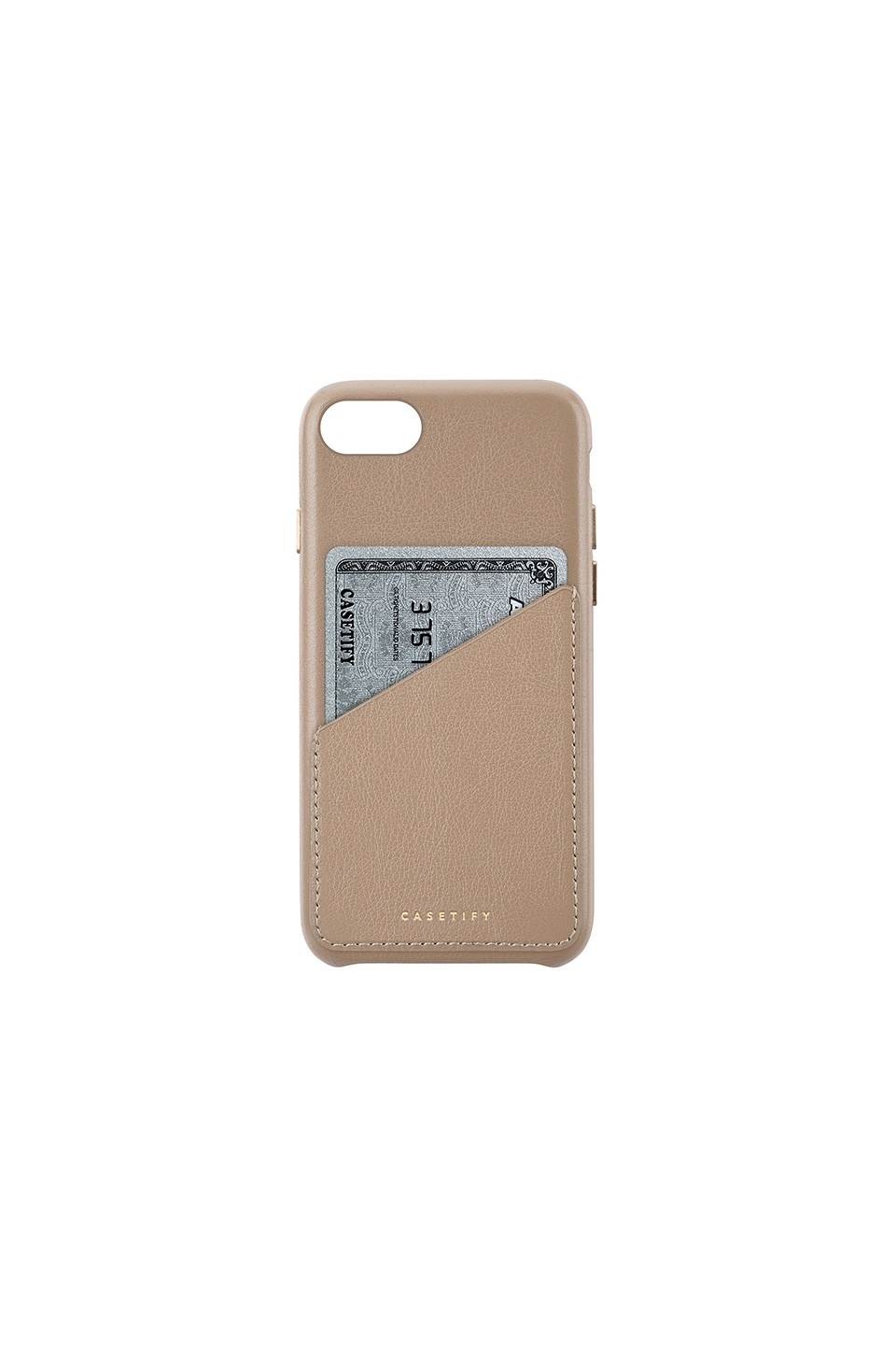 Leather Card Iphone 6/7/8 Case, Brown