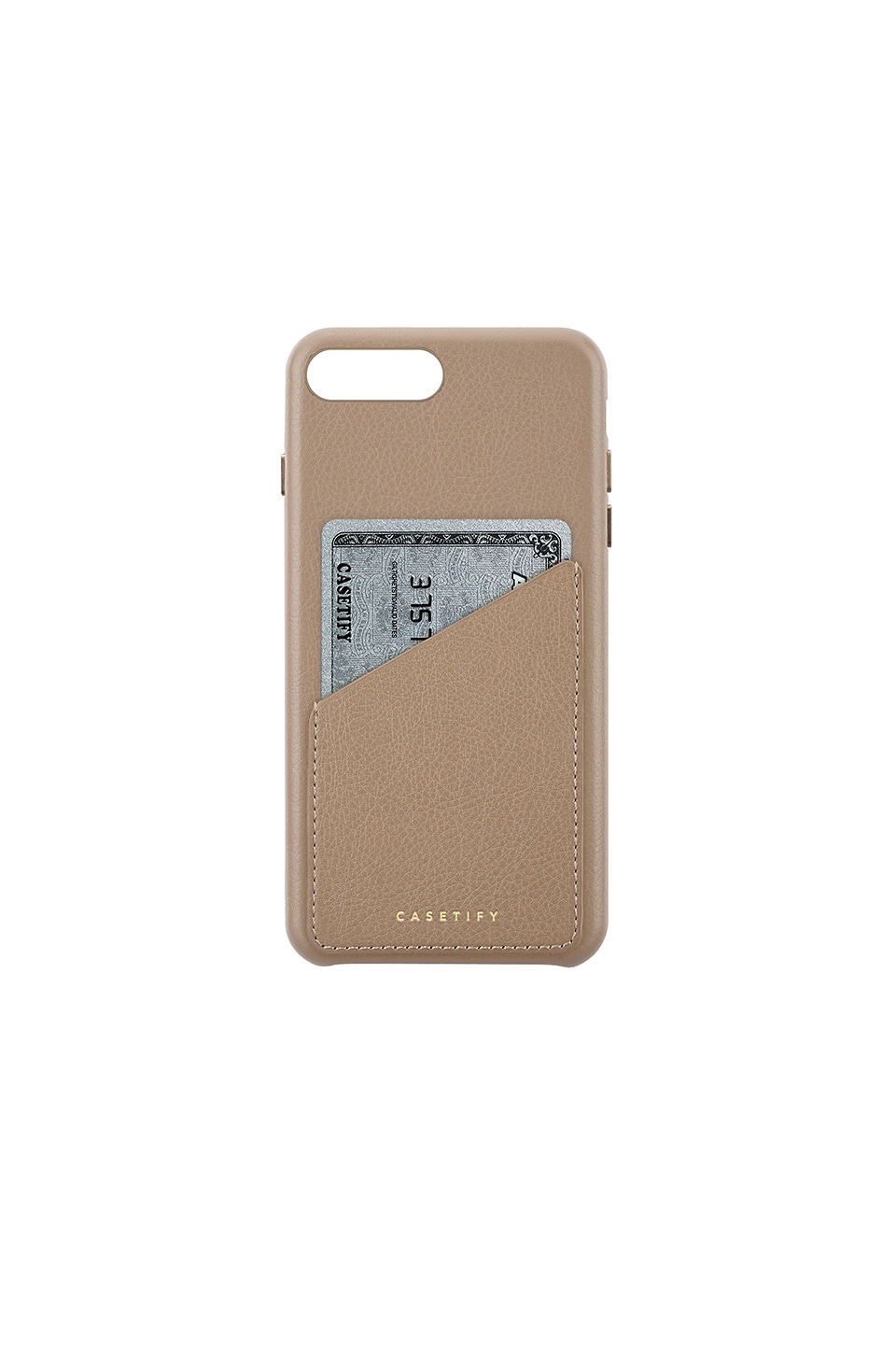 LEATHER CARD IPHONE 6/7/8 PLUS CASE