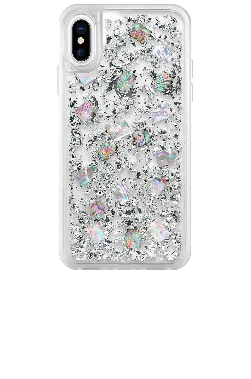 Casetify 24 K Magic iPhone X/XS Case in Silver