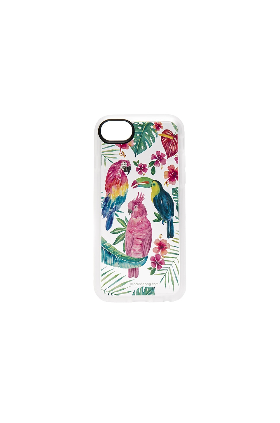 Tropical Birds iPhone 7 Case by Casetify