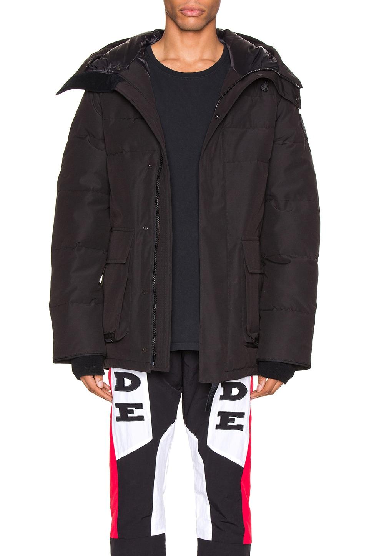 Canada Goose Black Label Wedgemont Parka in Black
