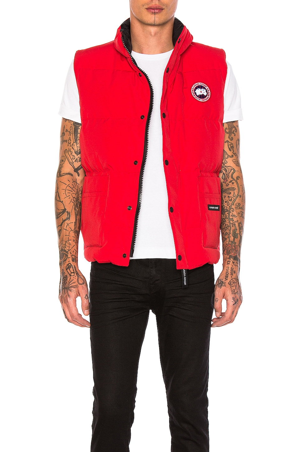 Canada Goose Freestyle Poly-Blend Vest in Red