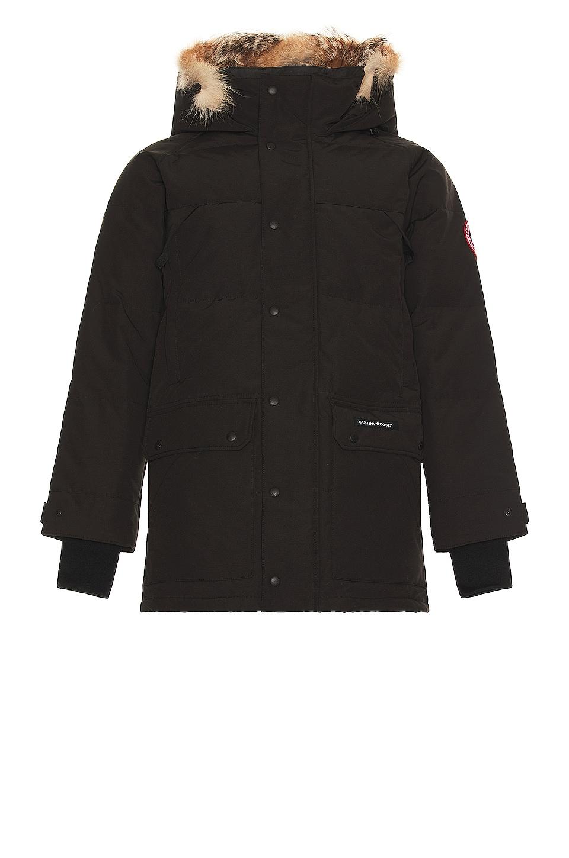 af9c4653c9c Canada Goose Emory Parka with Coyote Fur in Black   REVOLVE