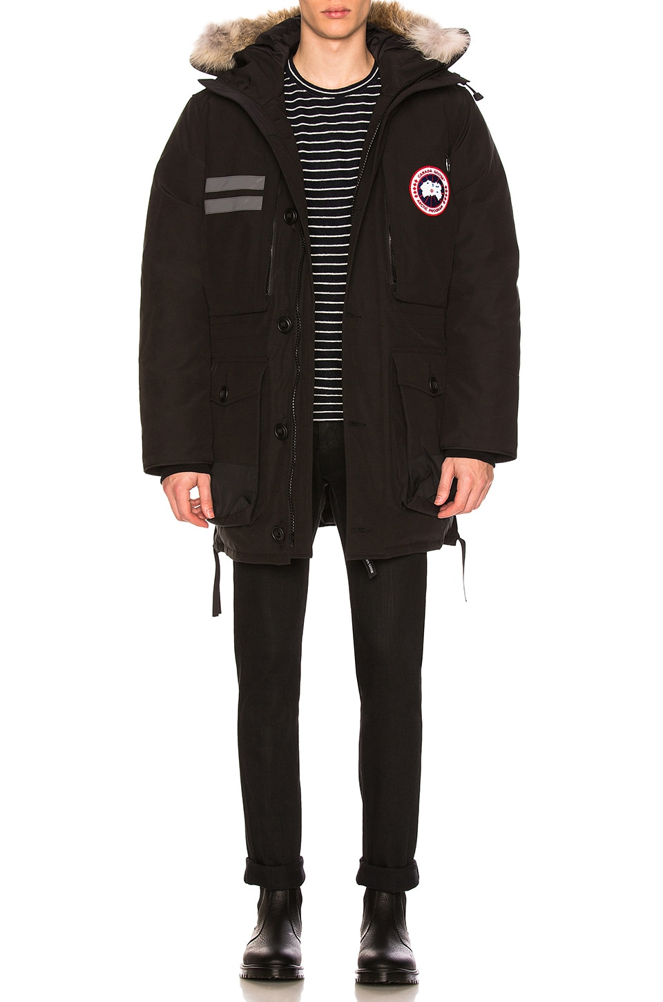 Canada Goose Maccullouch Parka in Black