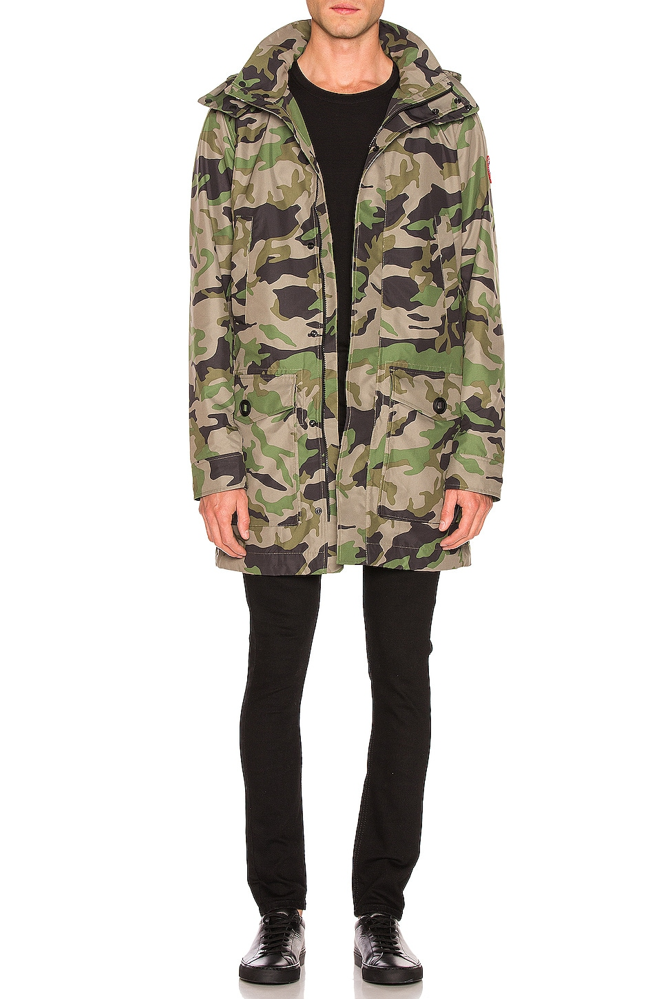 Canada Goose Crew Trench in Camo