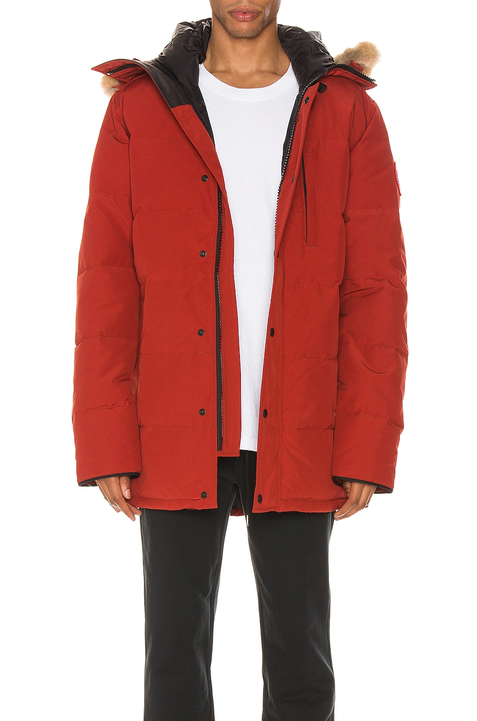 Canada Goose Carson Parka in Red Maple