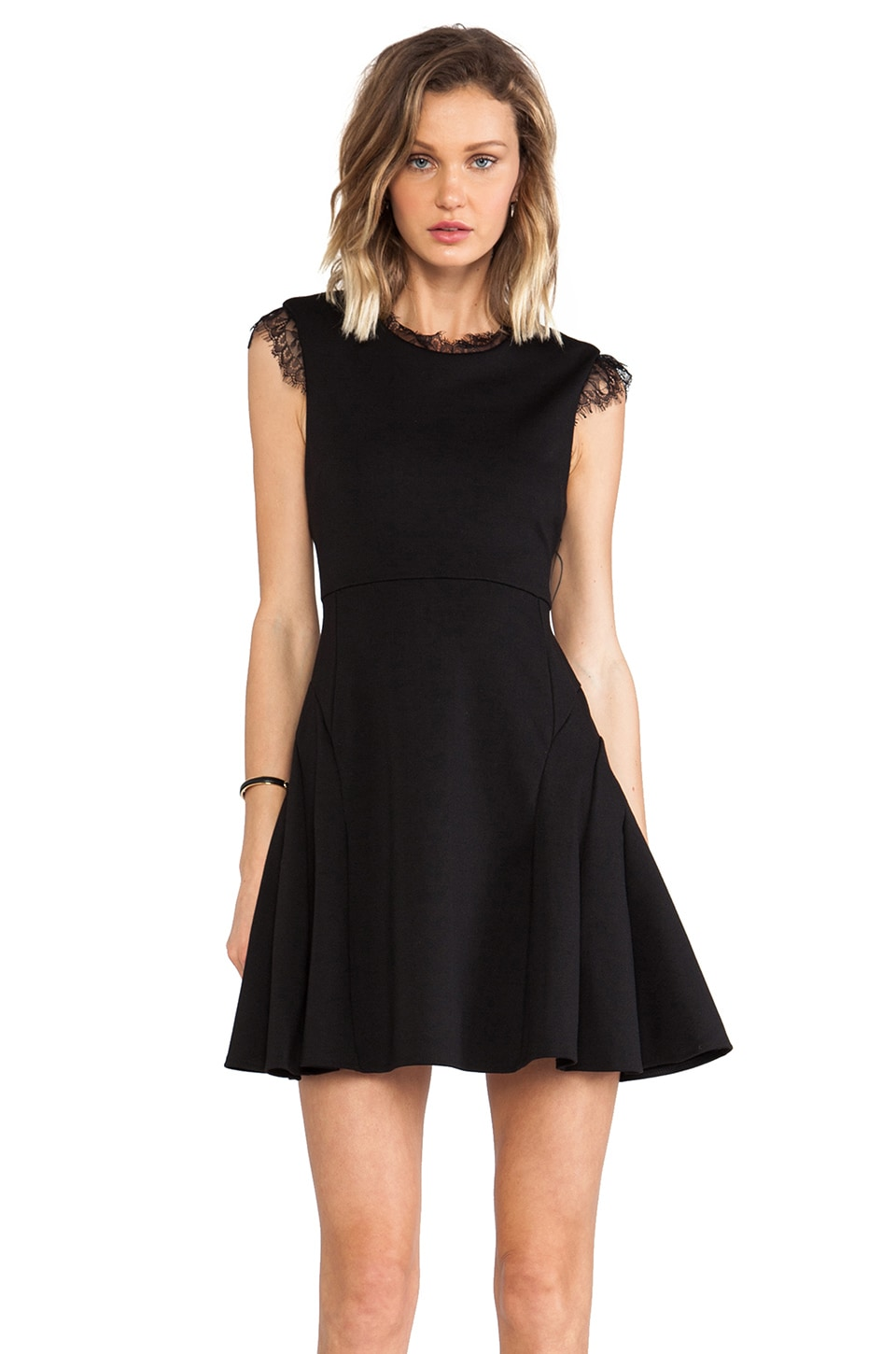 CHALK Player Dress in Black