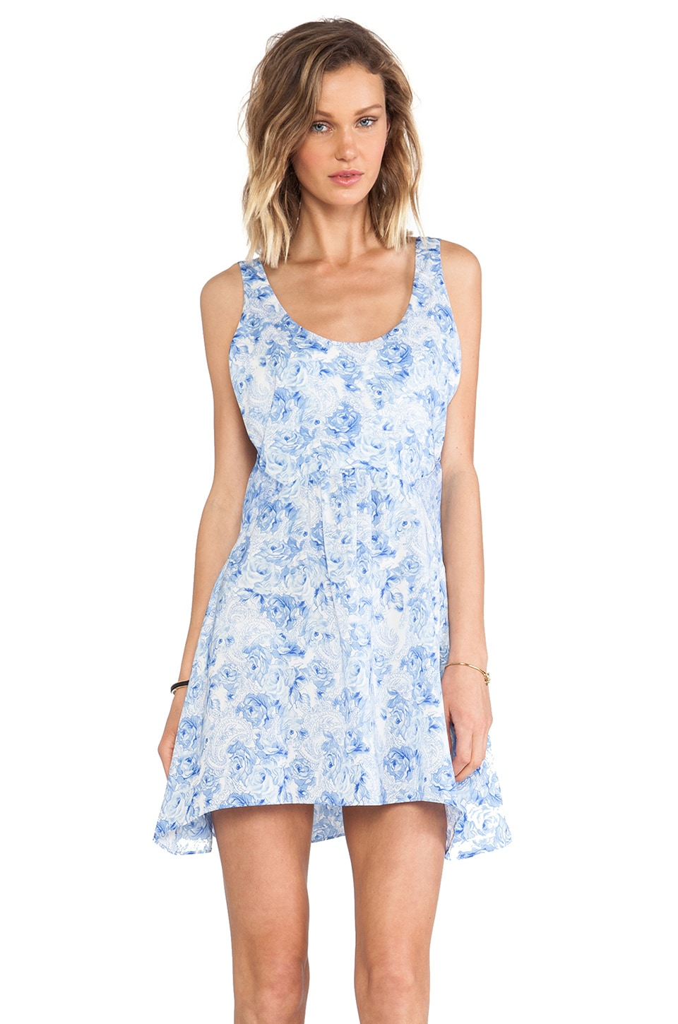 CHALK Ride Off Dress in Porcelain Rose Print