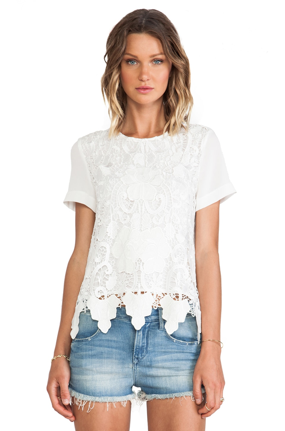 CHALK Spectator Top in White