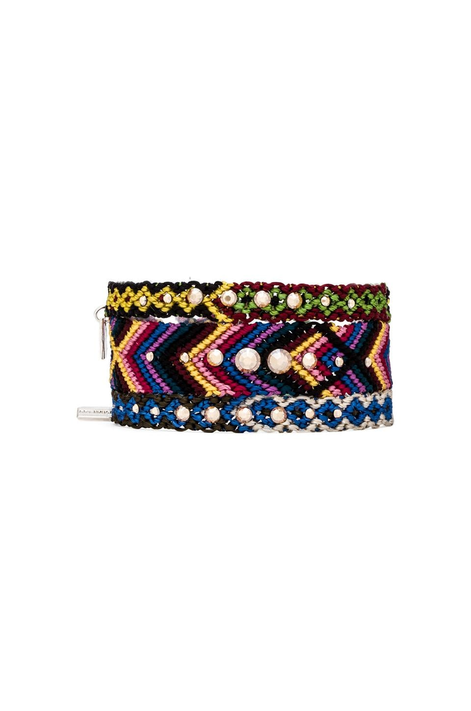 CHAN LUU Friendship Bracelet Set in Golden Shadow
