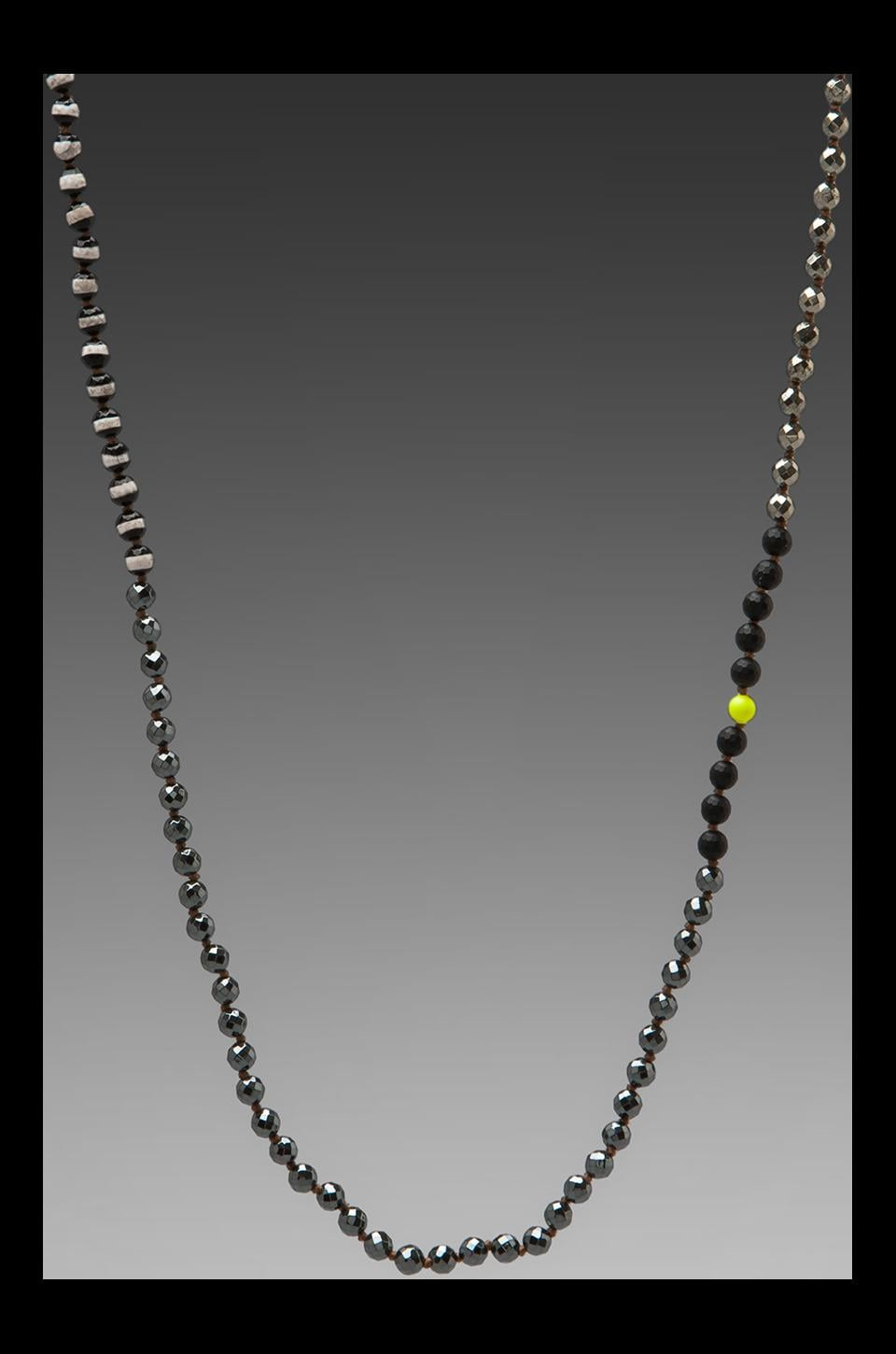 CHAN LUU Necklace in Pyrite Mix
