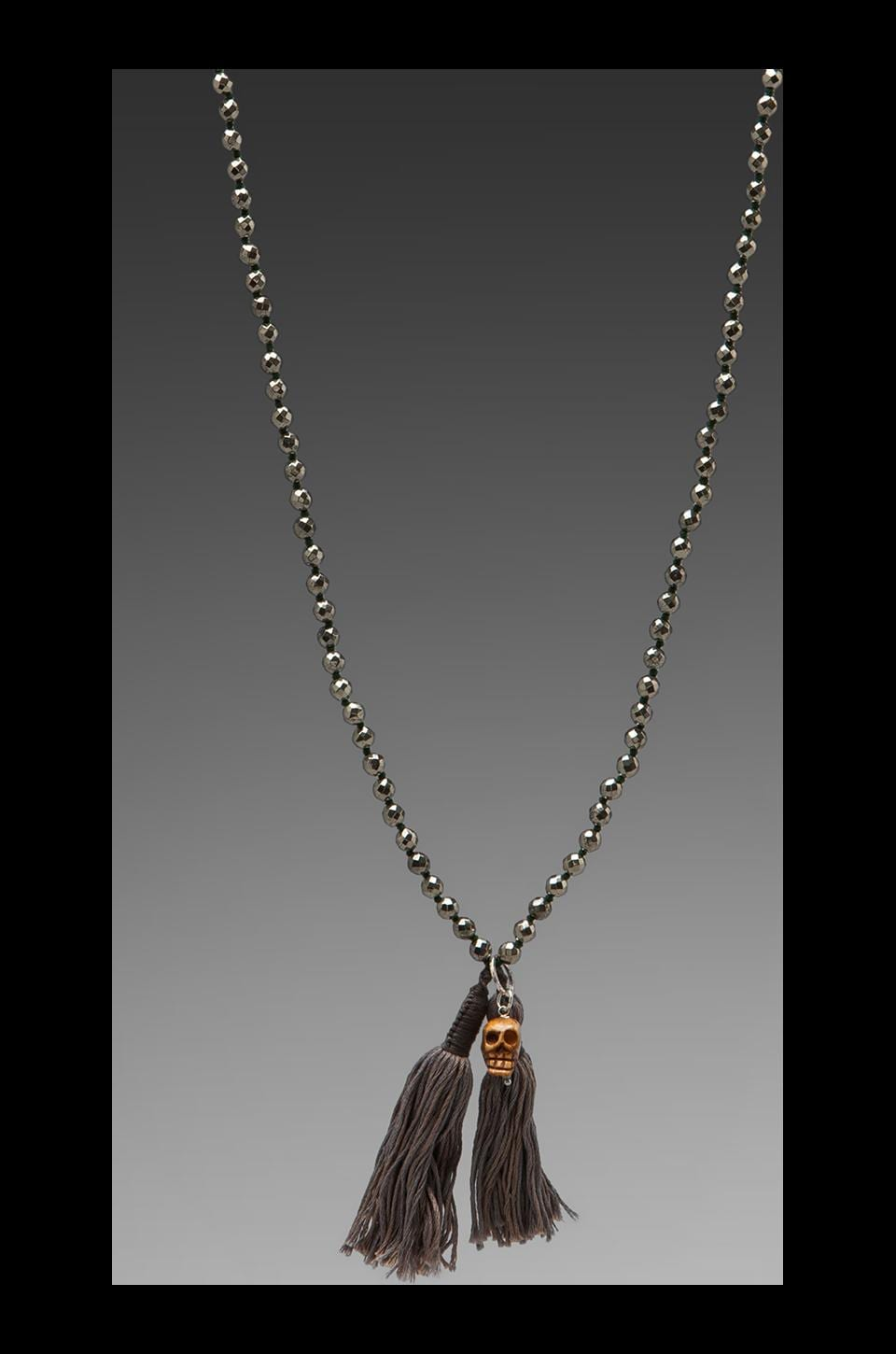 CHAN LUU Necklace in Pyrite