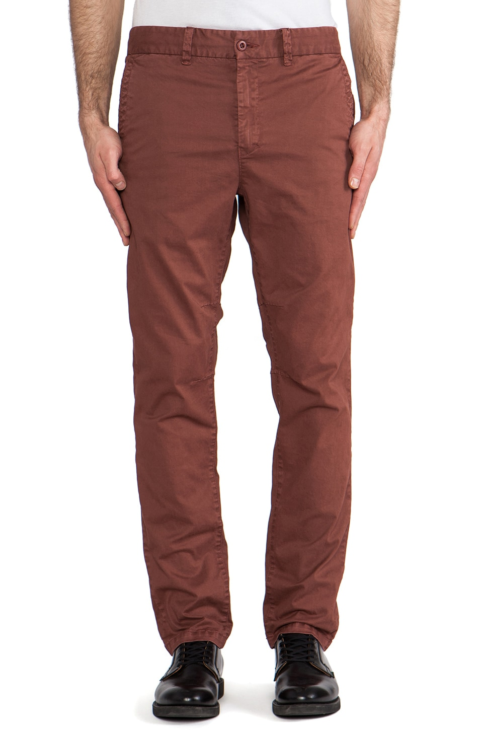 CHAPTER Rautha Pant in Rust
