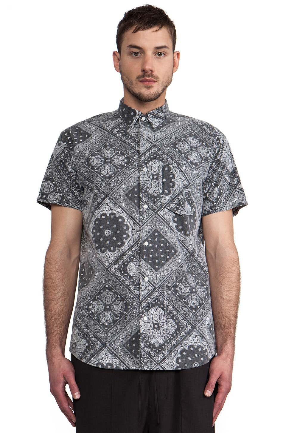 CHAPTER Mor Shirt in Bandana Print