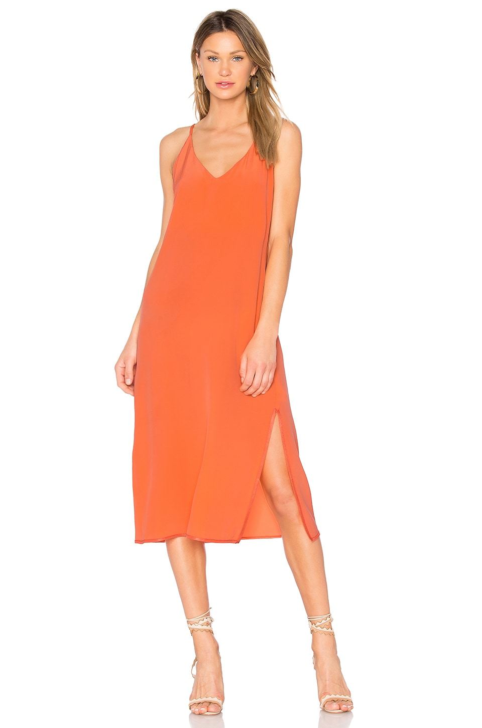 Maelle V Neck Maxi Dress by CHARLI