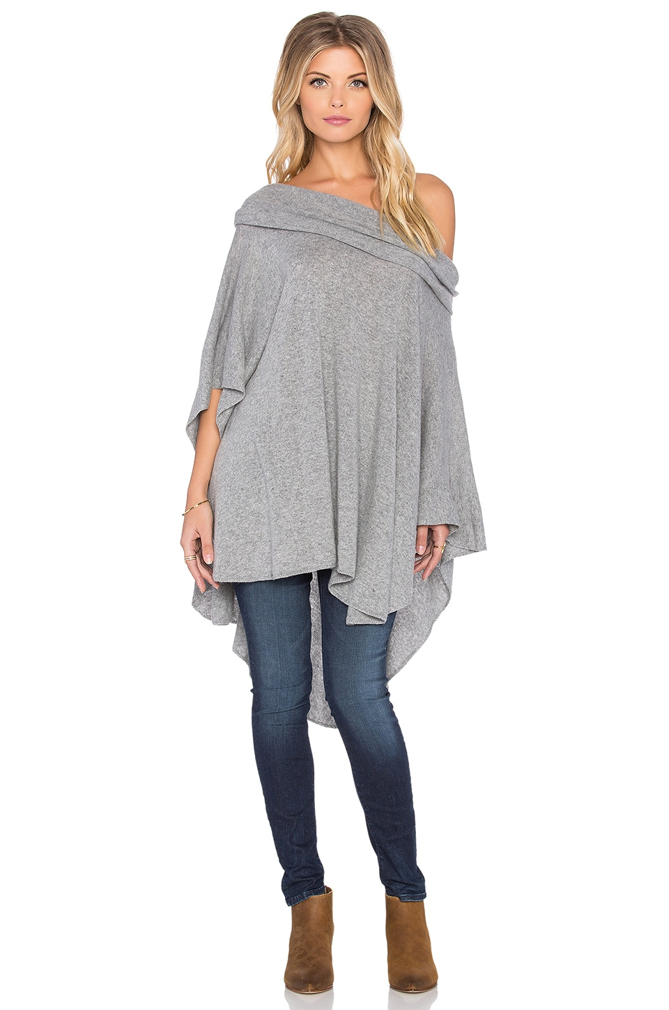 CHARLI Firenze Poncho in Cloud