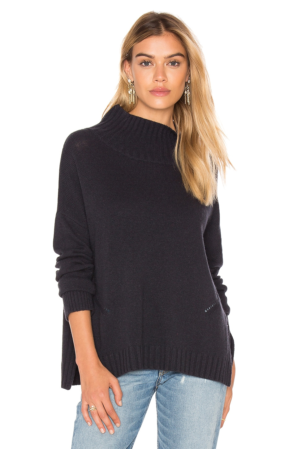 Roxanne Mock Neck Sweater by CHARLI