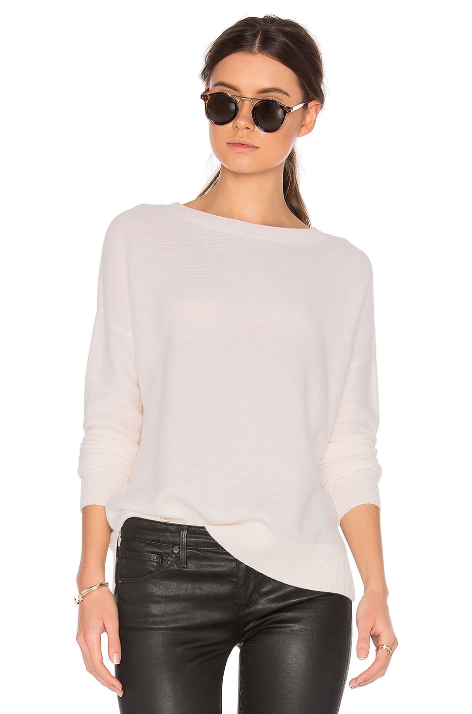 CHARLI Cheshire Cashmere Sweater in Ivory