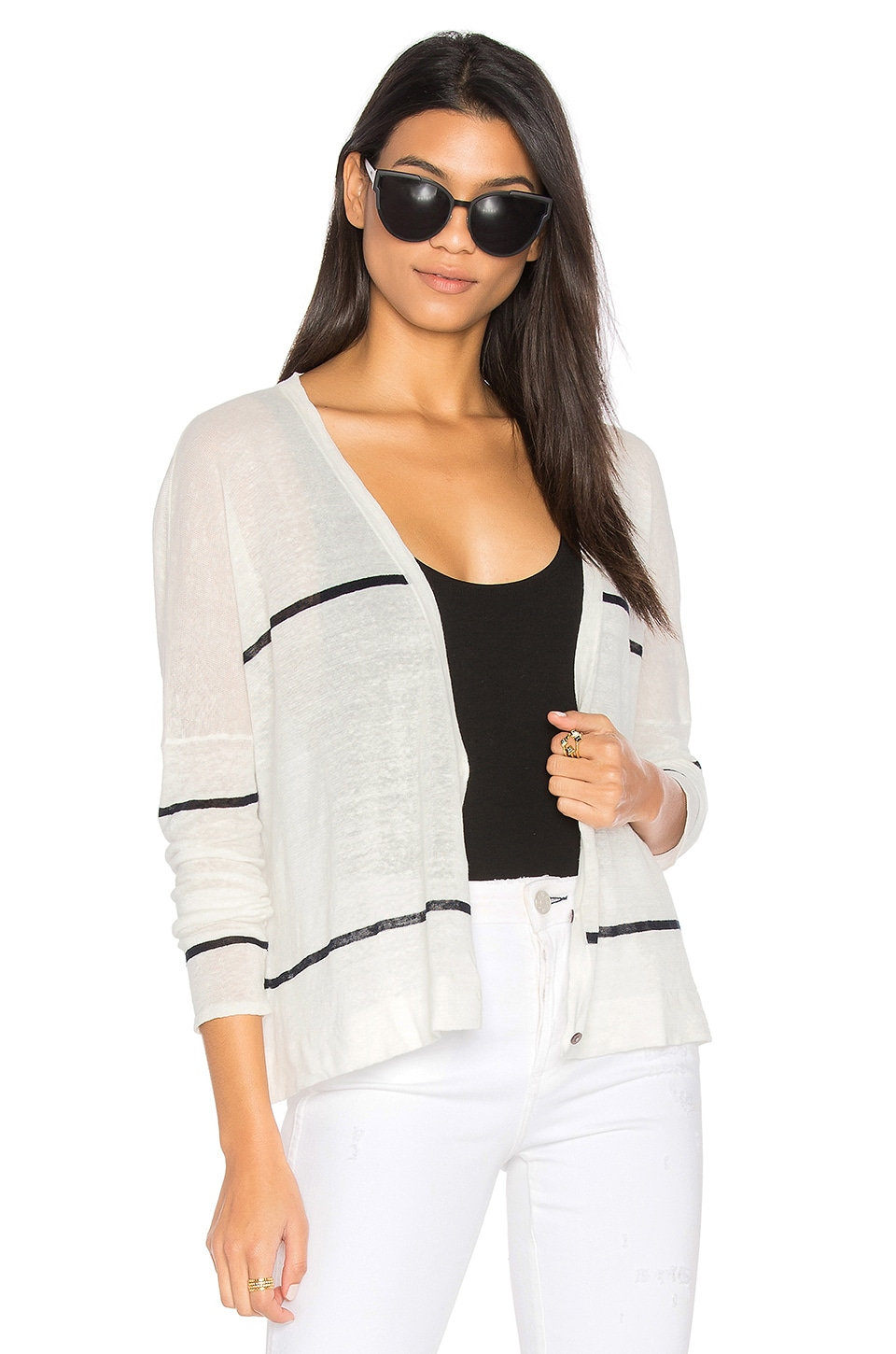 Antonella Stripe Cardigan by Charli