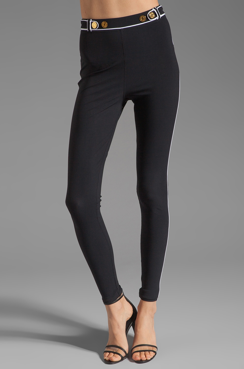 Charlie by Matthew Zink Resort Pant in Black