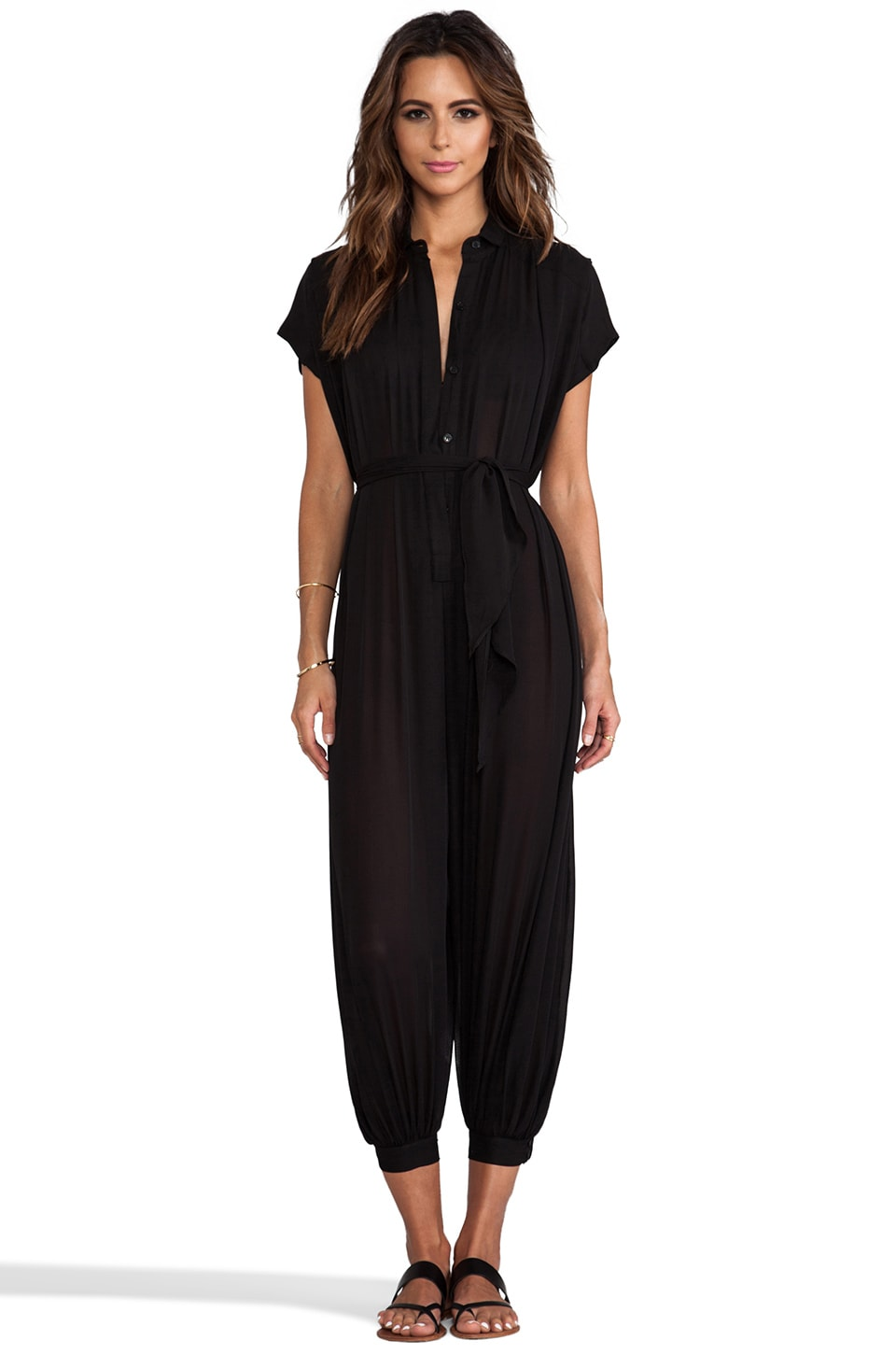 Charlie by Matthew Zink Charlie Jumpsuit in Black