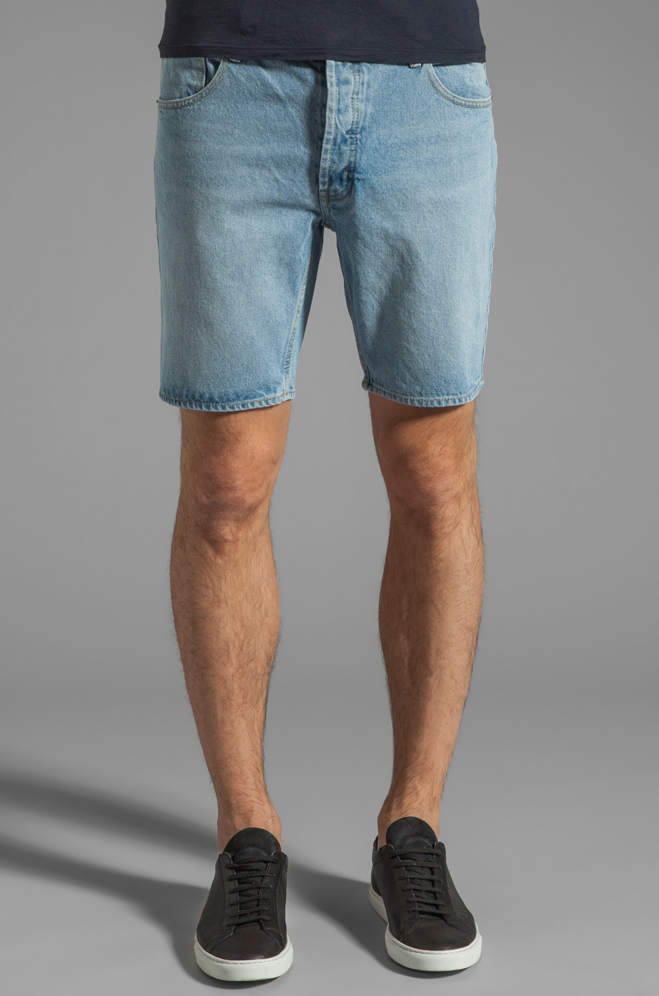 Cheap Monday Short Five in Heavy Washed