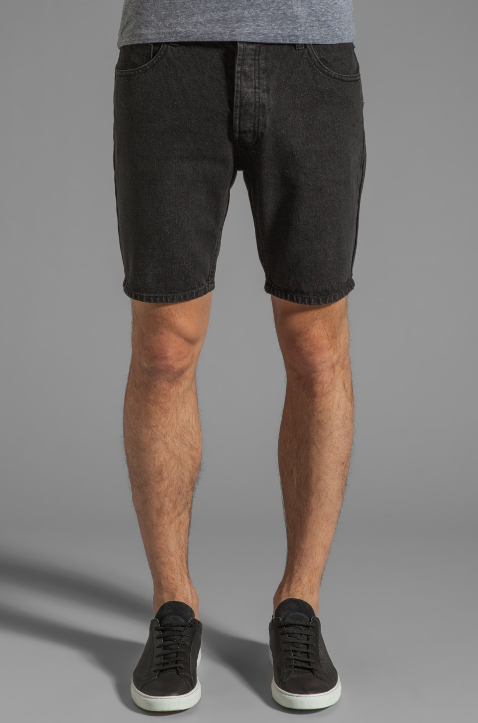 Cheap Monday Short Five in Washed Black
