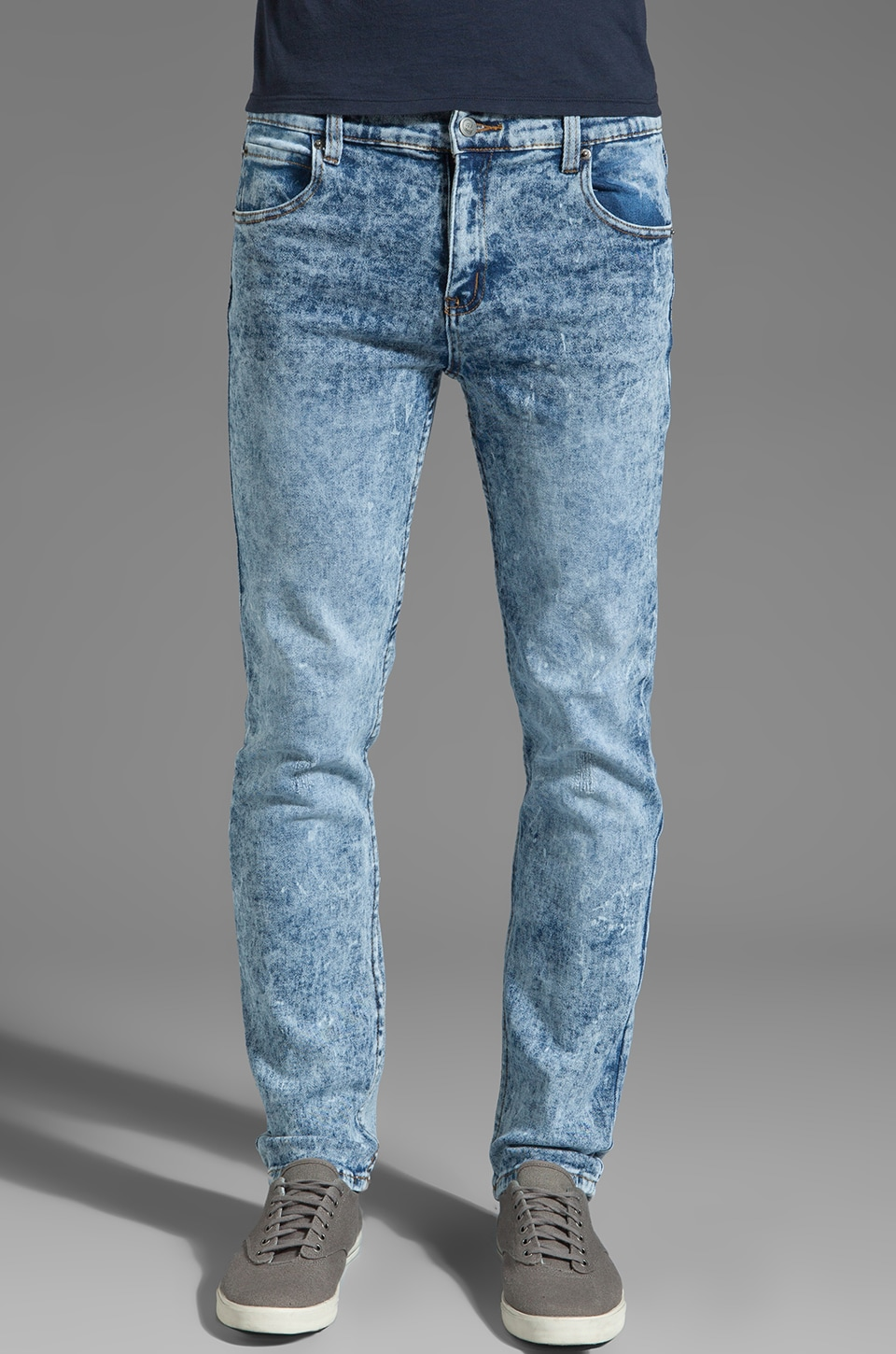 Cheap Monday Tight Jeans en Stone Used