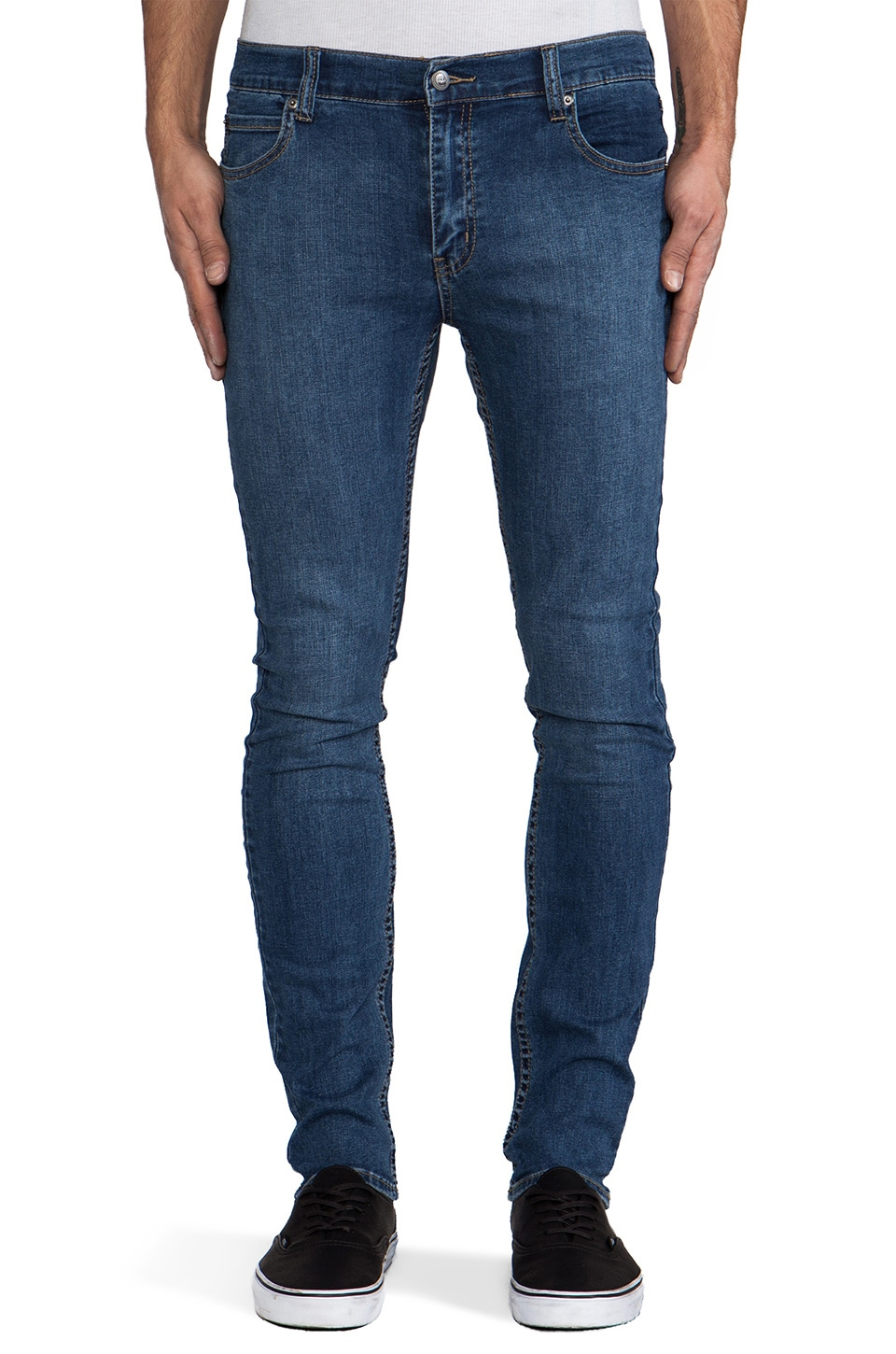 Cheap Monday Tight in Credit Mid Blue