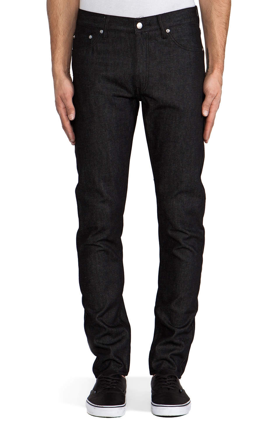 Cheap Monday High Slim in Dry Black