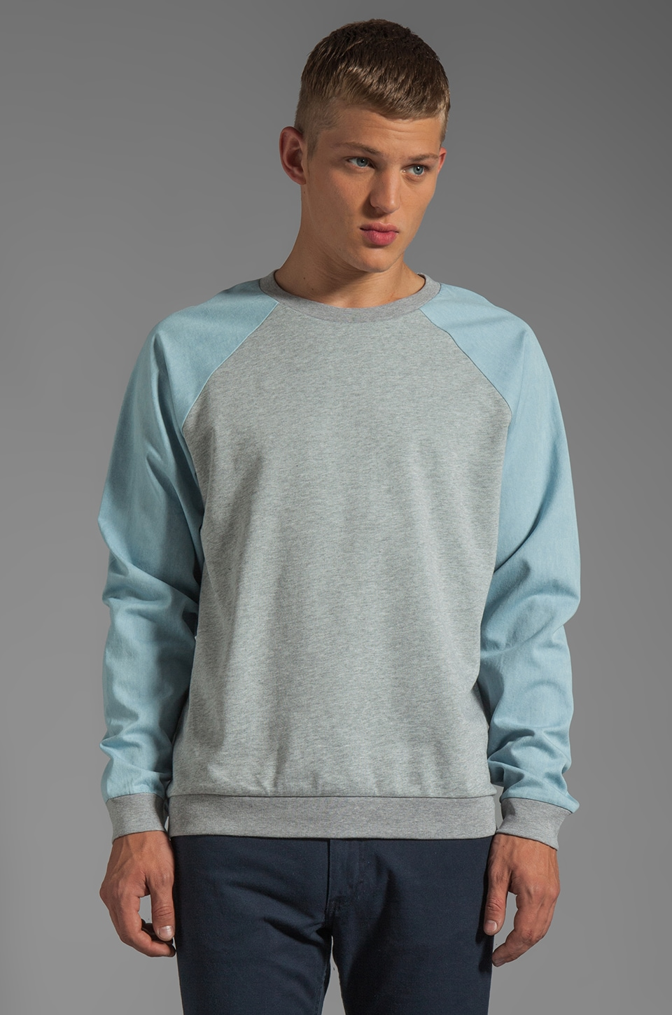 Cheap Monday Brett Sweat in Grey Melange