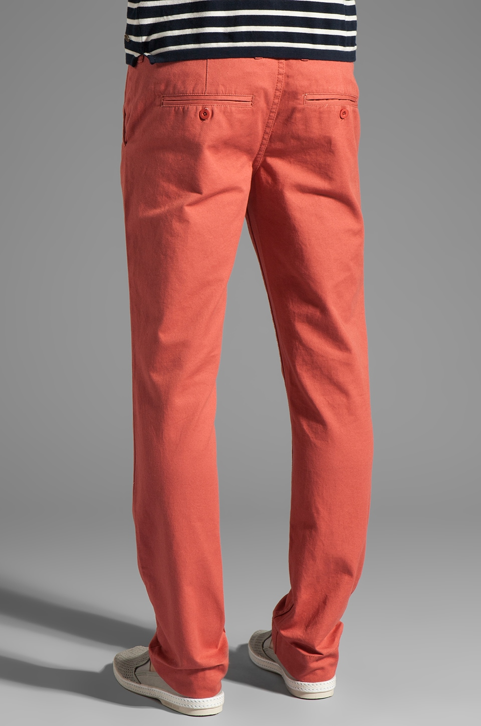 Cheap Monday Slim Chino in Red