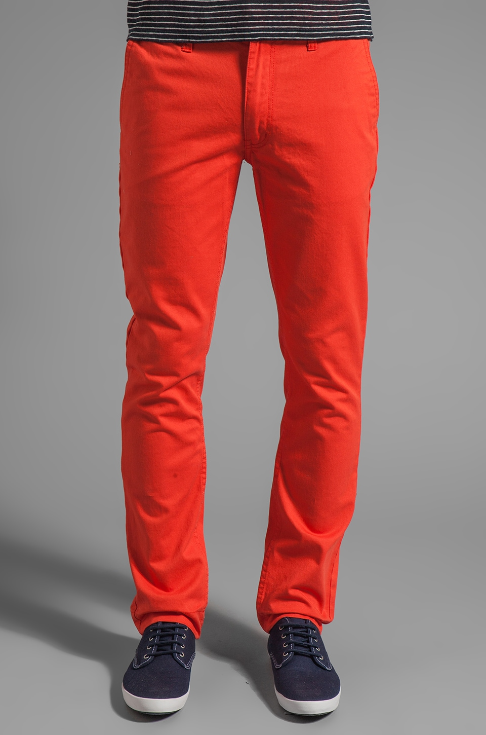 Cheap Monday Slim Chino Pants in Grenadine