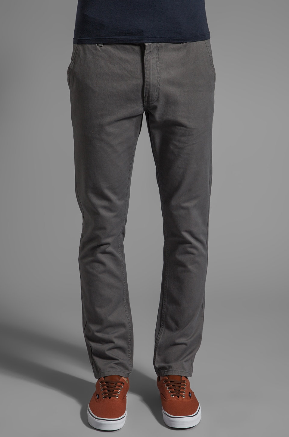 Cheap Monday Slim Chino in Heavy Grey