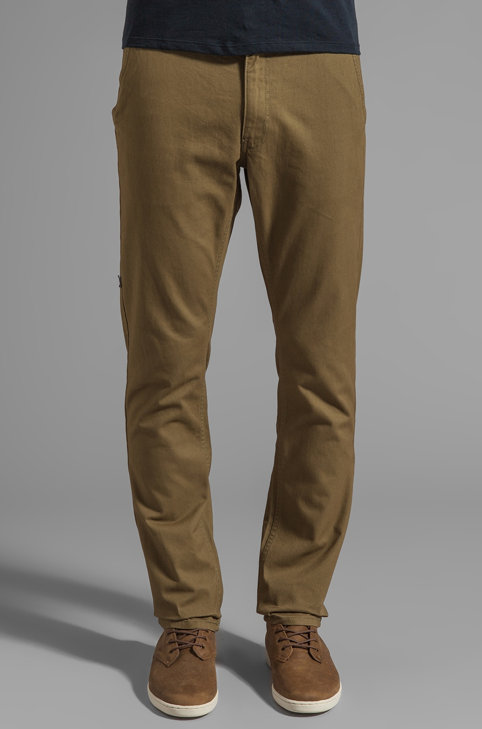 Cheap Monday Slim Chino in Earth Green