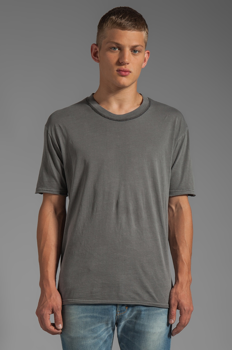 Cheap Monday Bobby Tee in Iron Grey