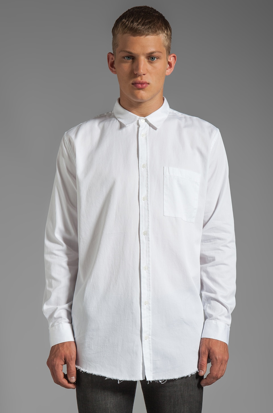 Cheap Monday John Shirt in White