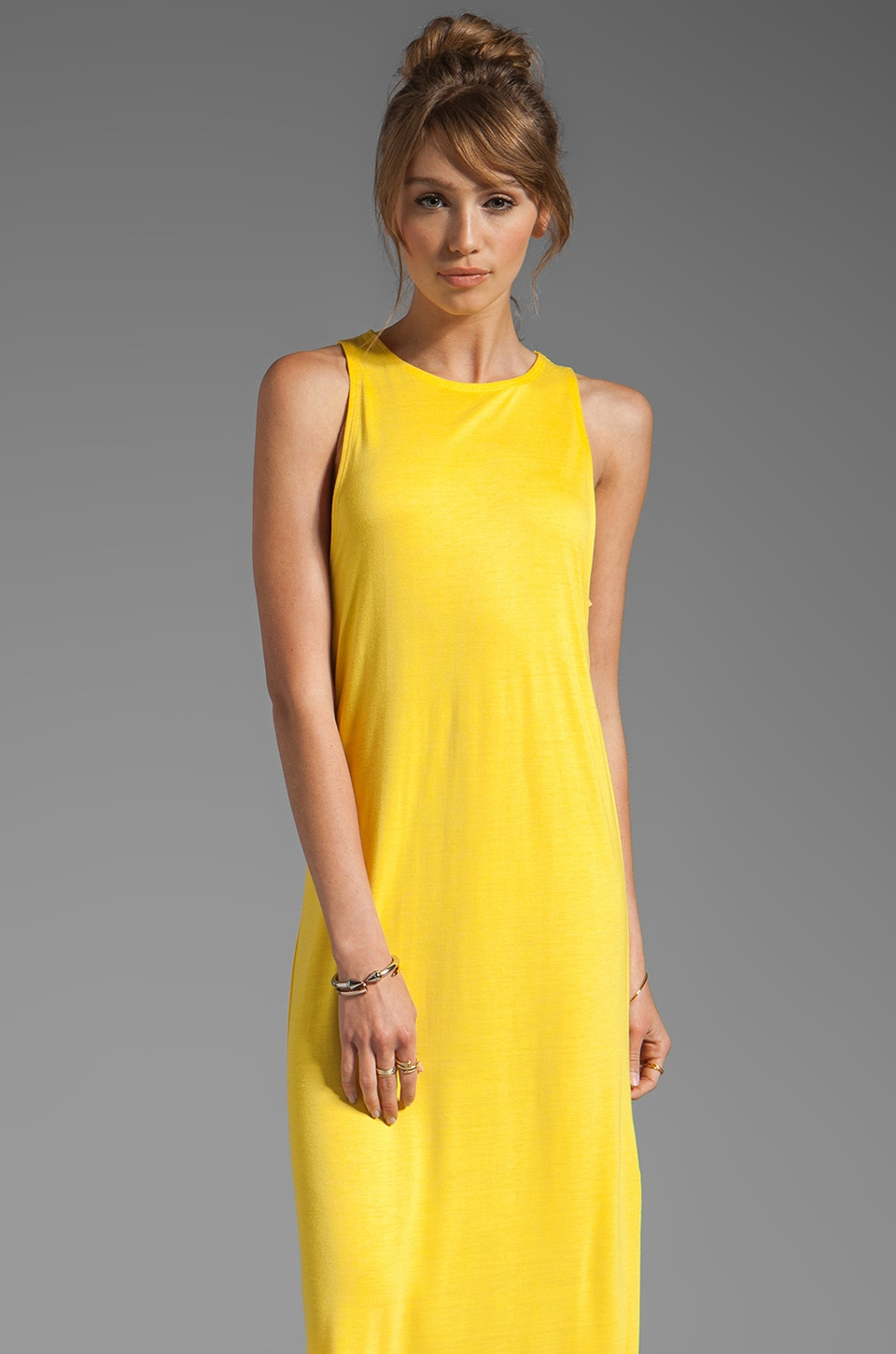 Cheap Monday Rachel Dress in Bright Yellow