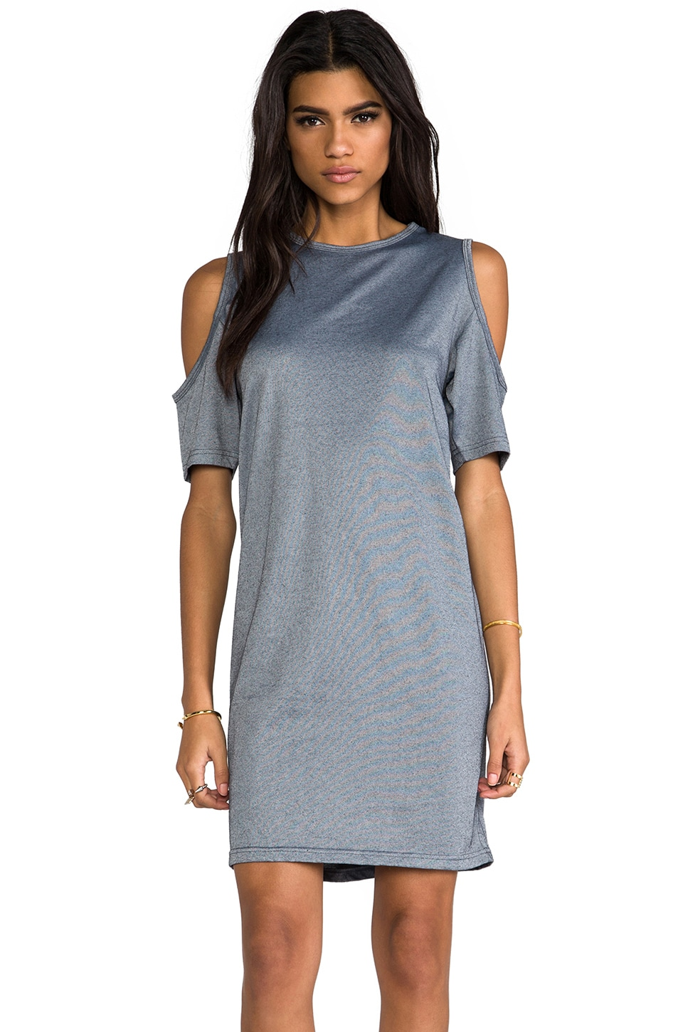 Cheap Monday Visible Shoulder Dress in Silver Melange