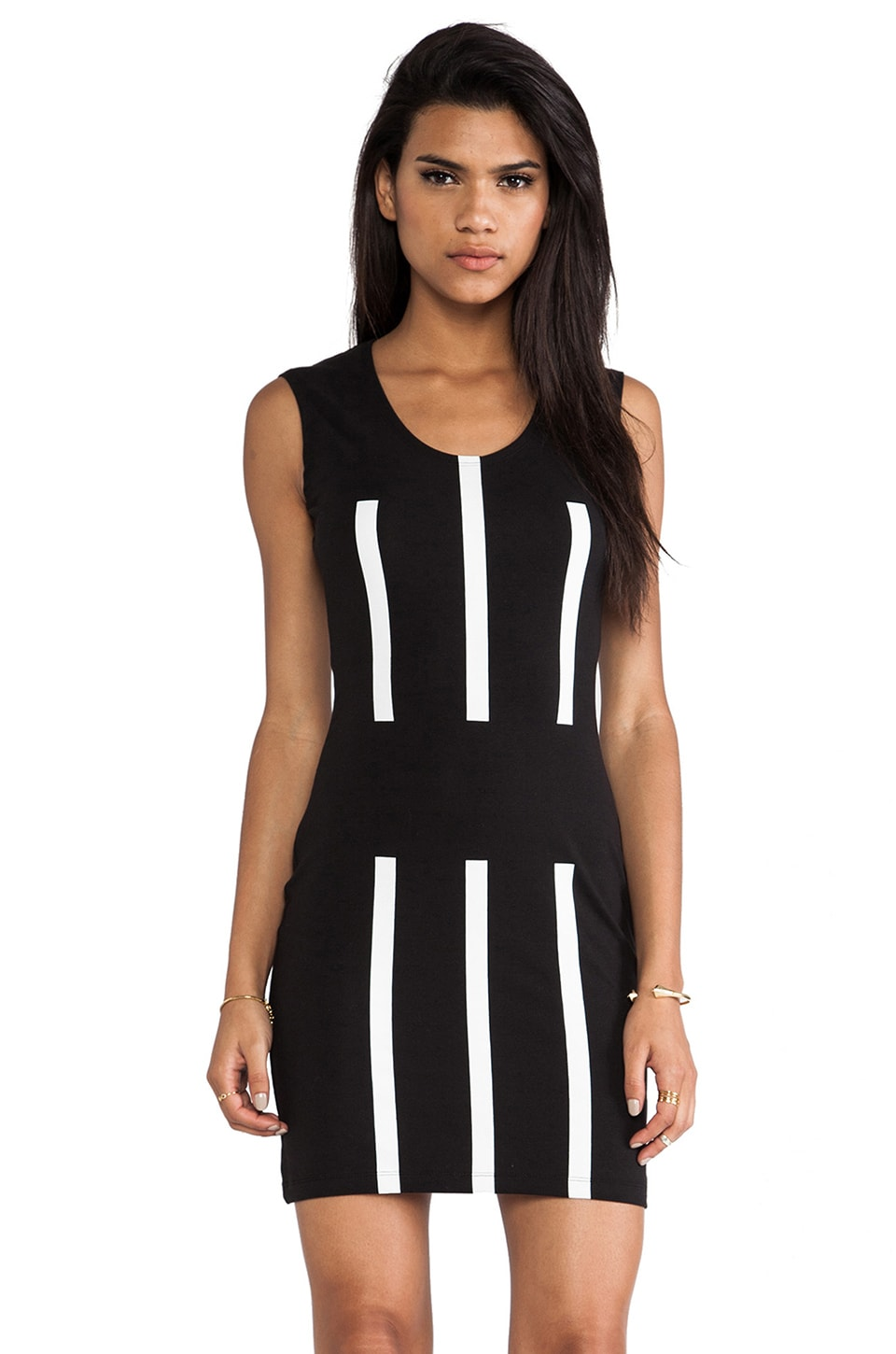 Cheap Monday Walk The Line Dress in Black