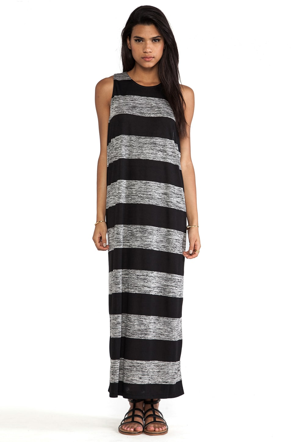 Cheap Monday Rory Dress in Concrete Stripe